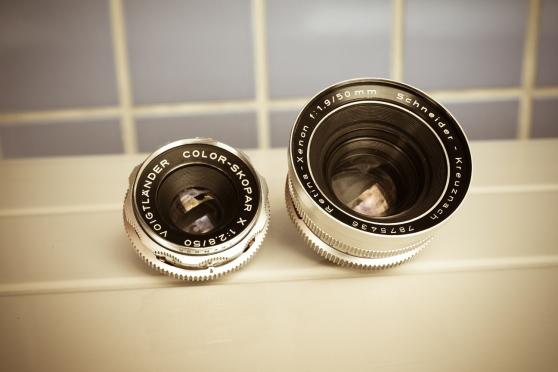 Fotografar com lentes DKL